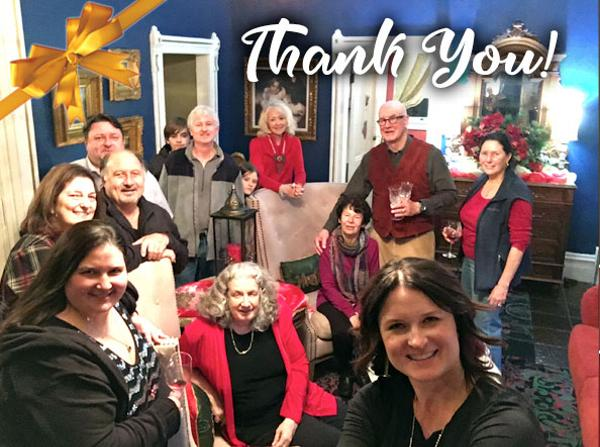 Thank you from the all the innkeepers for another successful Holiday Tour!